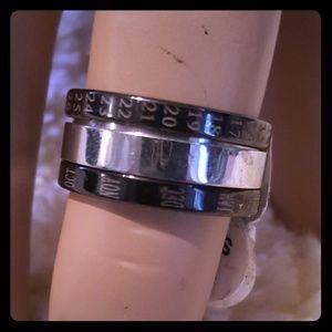 Jewelry - Unisex Calendar Ring